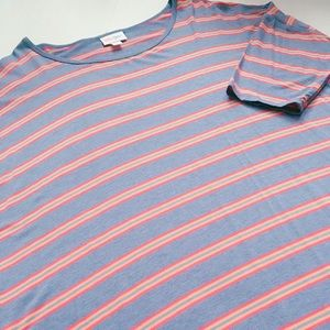 Striped LuLaRoe Irma Tunic